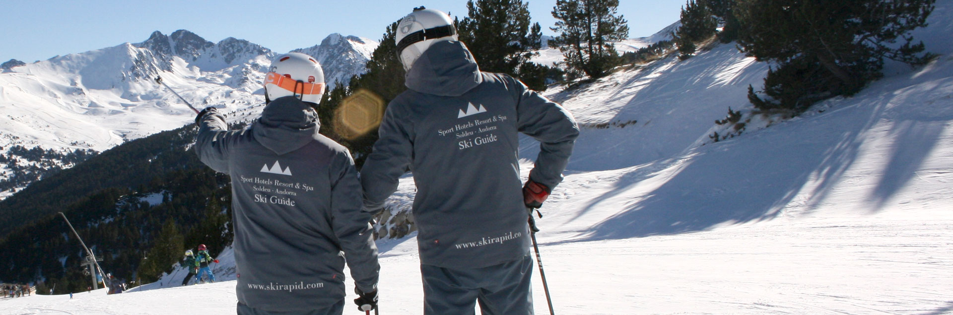 Ski hotels in Soldeu with ski guide