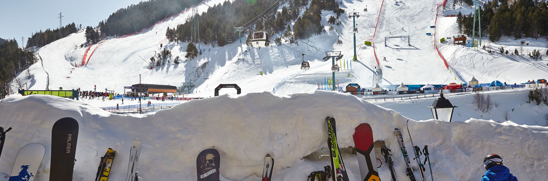 World Cup Grandvalira in Soldeu Avet slope