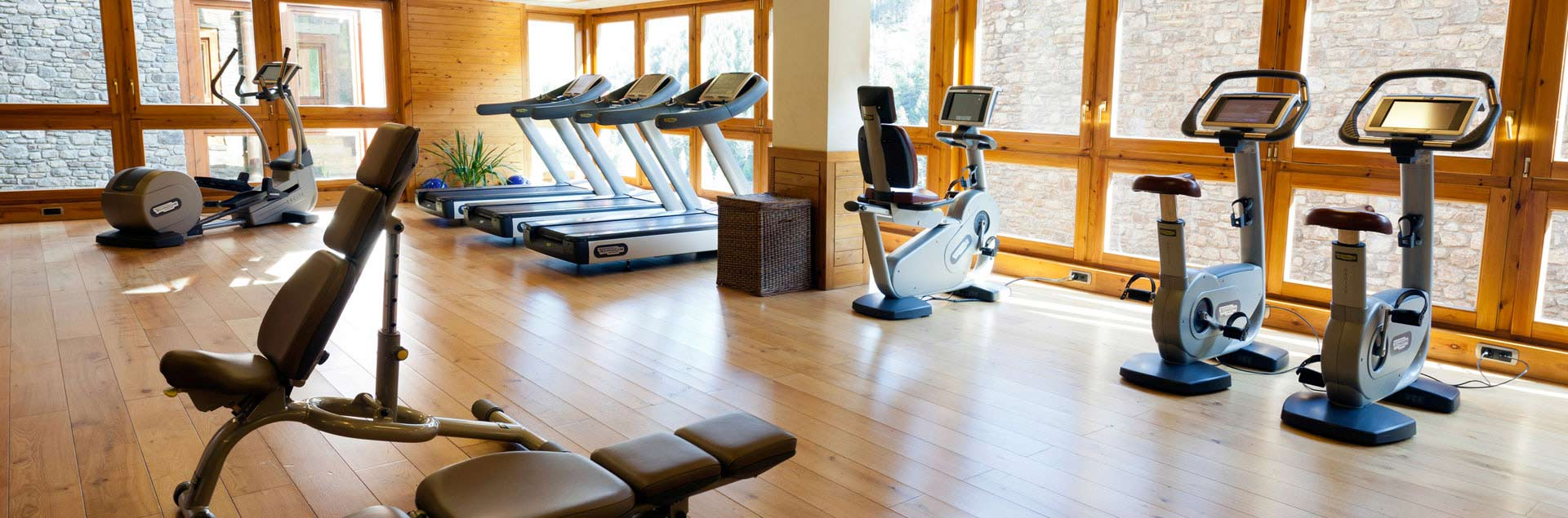 Included fitness center with accommodation in Soldeu
