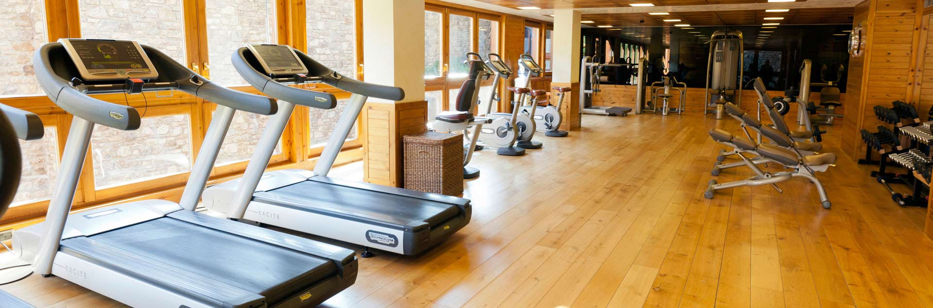 4 & 5 star hotels in Soldeu with included gym