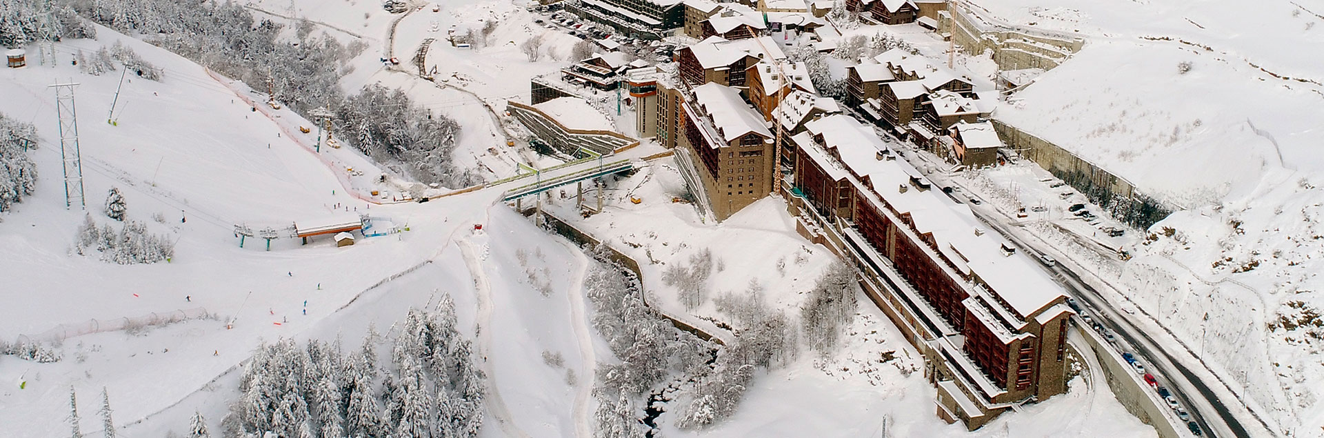 4 and 5 star hotels at the foot of Grandvalira