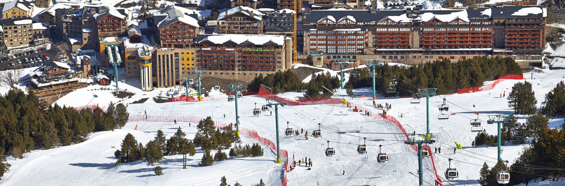Accommodation in Grandvalira Soldeu, 4 & 5* hotels and Spa