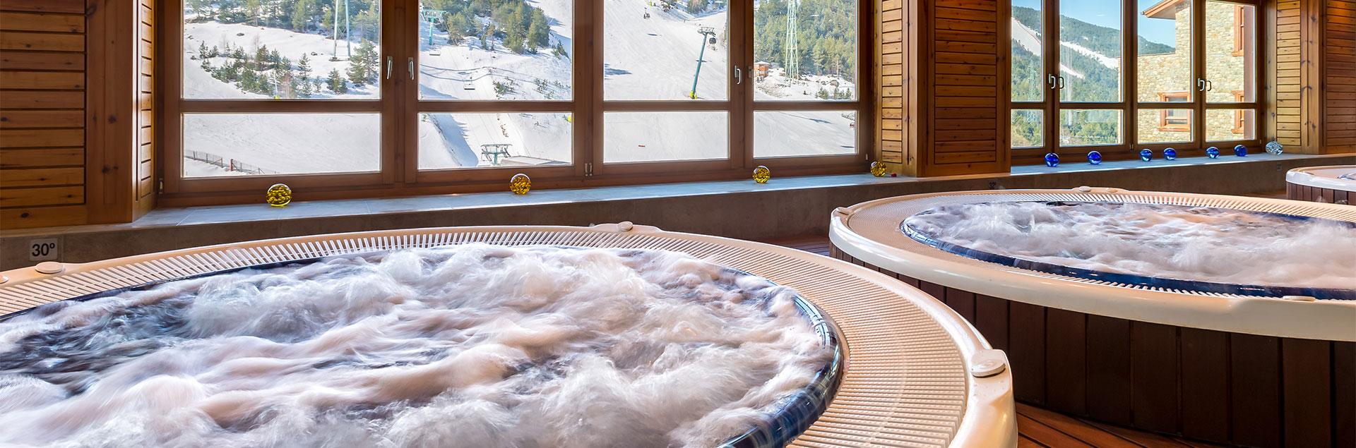 spa included sport hotel village andorra. Black Bedroom Furniture Sets. Home Design Ideas