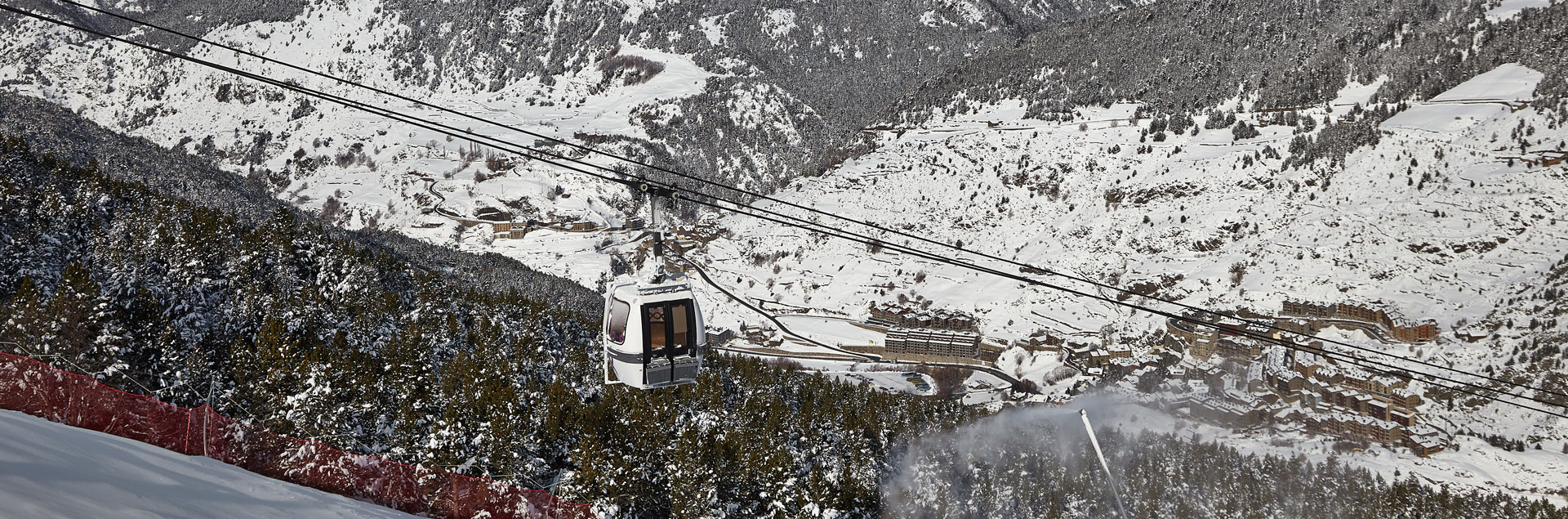 More than 200 km of ski slopes Grandvalira