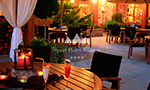 terrace for a drink during summer nights