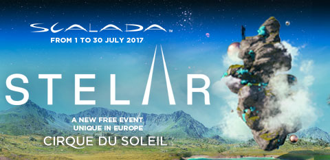 Cirque du Soleil presents Scalada Stelar